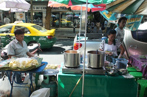 bangkok street vendors